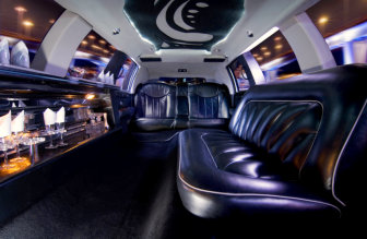 inside view of limousine