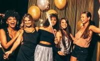 beautiful ladies having party